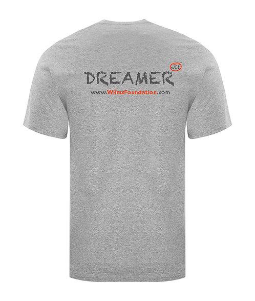Childrens Tee's: Slogans/ Dreamer (Light Grey)