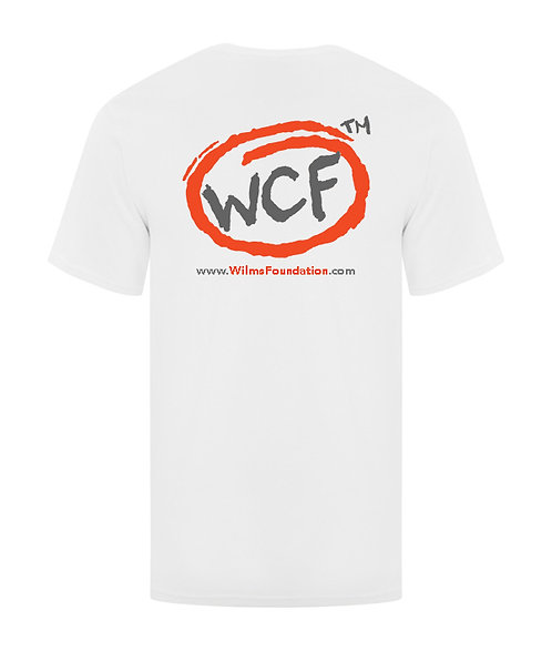 Mens Tee's: Classic WCF Icon (White)