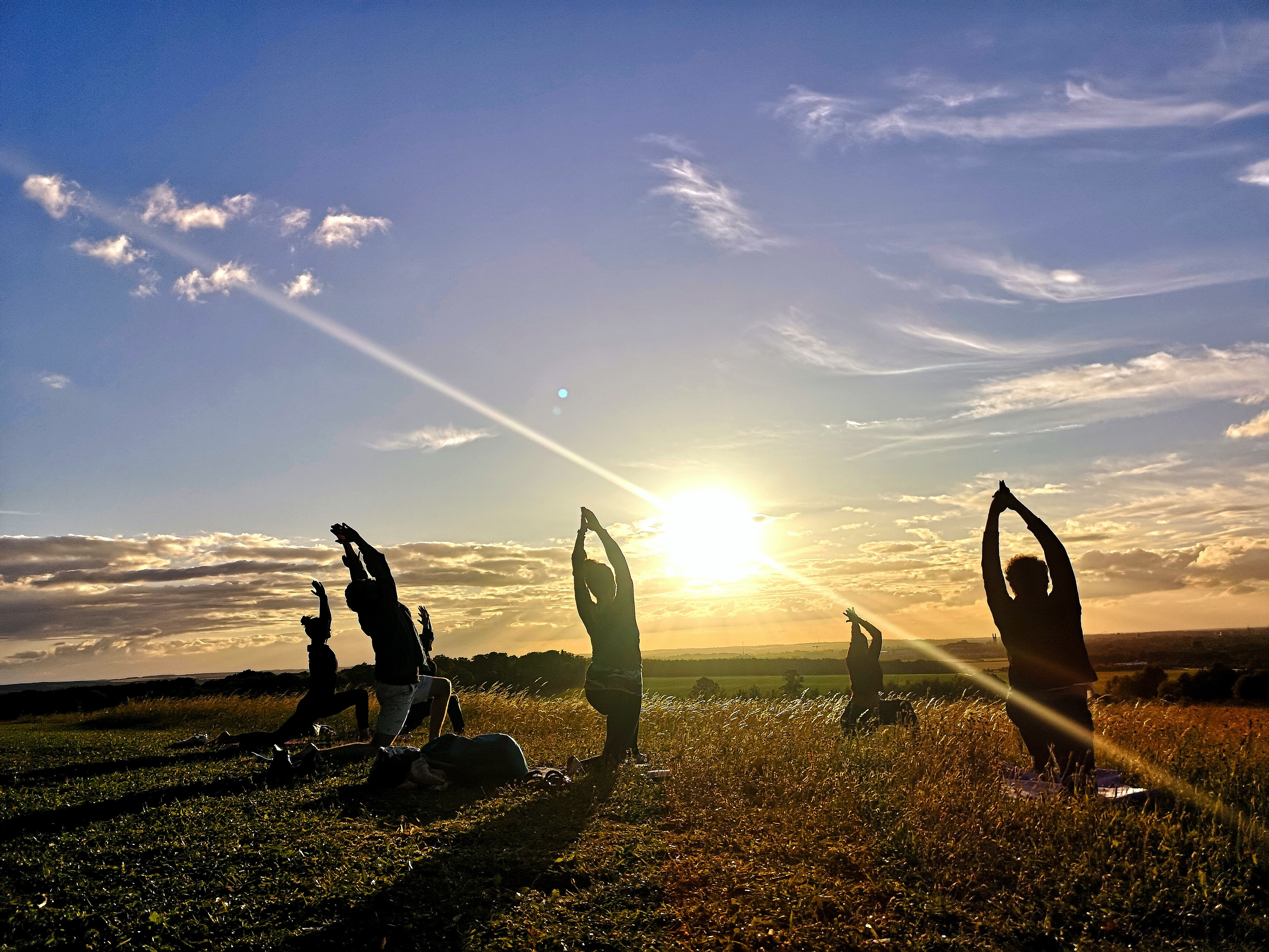 Weekend Hatha Yoga in the park 10:30am