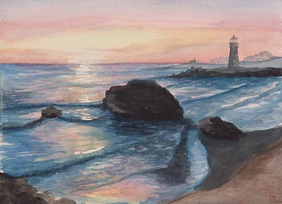 """Santa Cruz"" Painting"