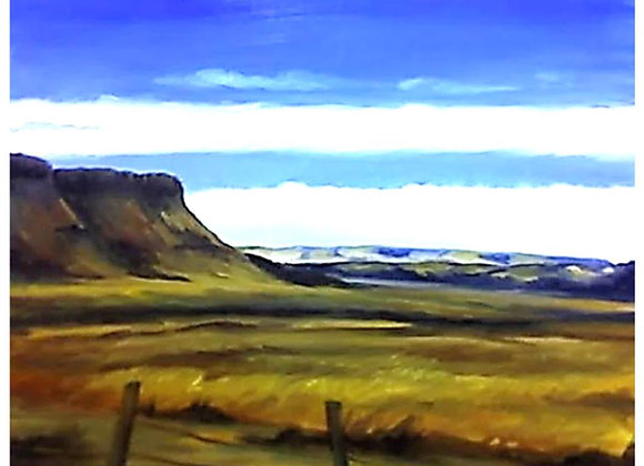 """""""West Texas Mesa"""" Painting"""