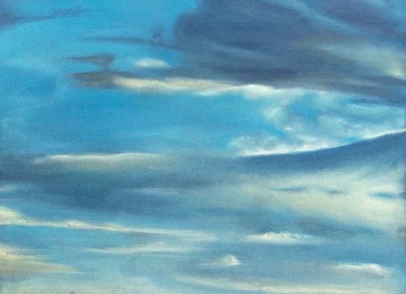 """TX Silo Sky"" Drawing"