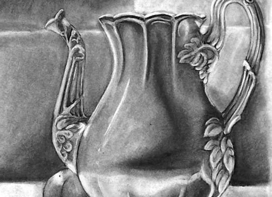 """Coffee Carafe"" Drawing"