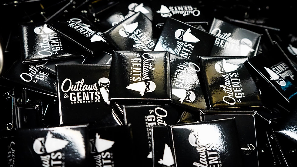 Outlaws and Gents Buttons