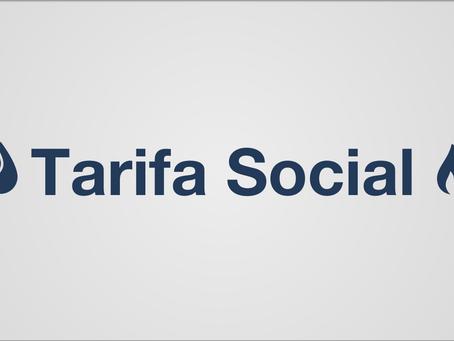 Tarifa Social Agua y Gas