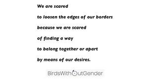Do We Still Need Borders?