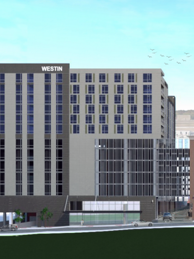 Westin Greensboro Render 1