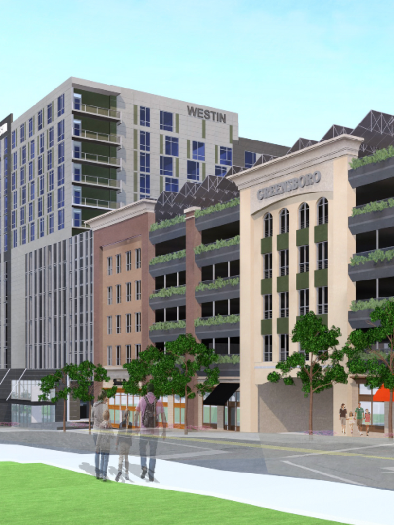 Westin Greensboro Render 3