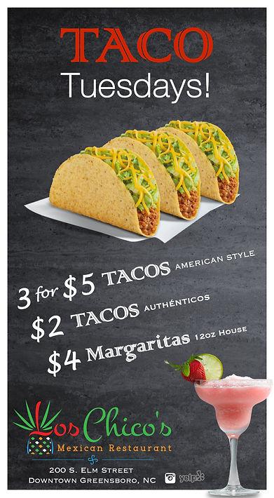 Taco Tuesday @ Los Chicos