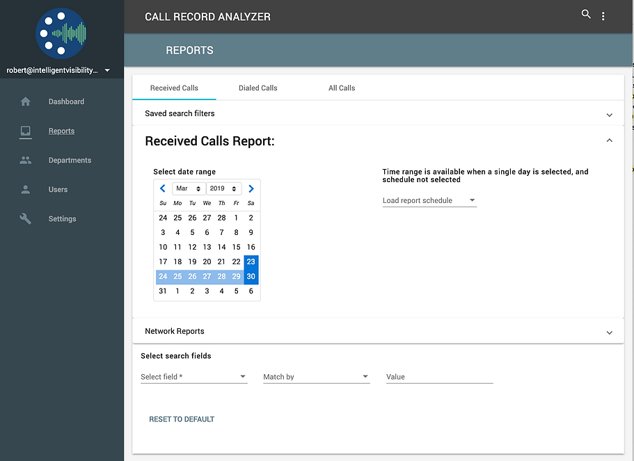 CRA is a powerful cloud based, easy to use, modern web call detail reporting analytics platform for Cisco® Unified Communications Environments