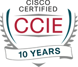 CCIE Certified 10 Years