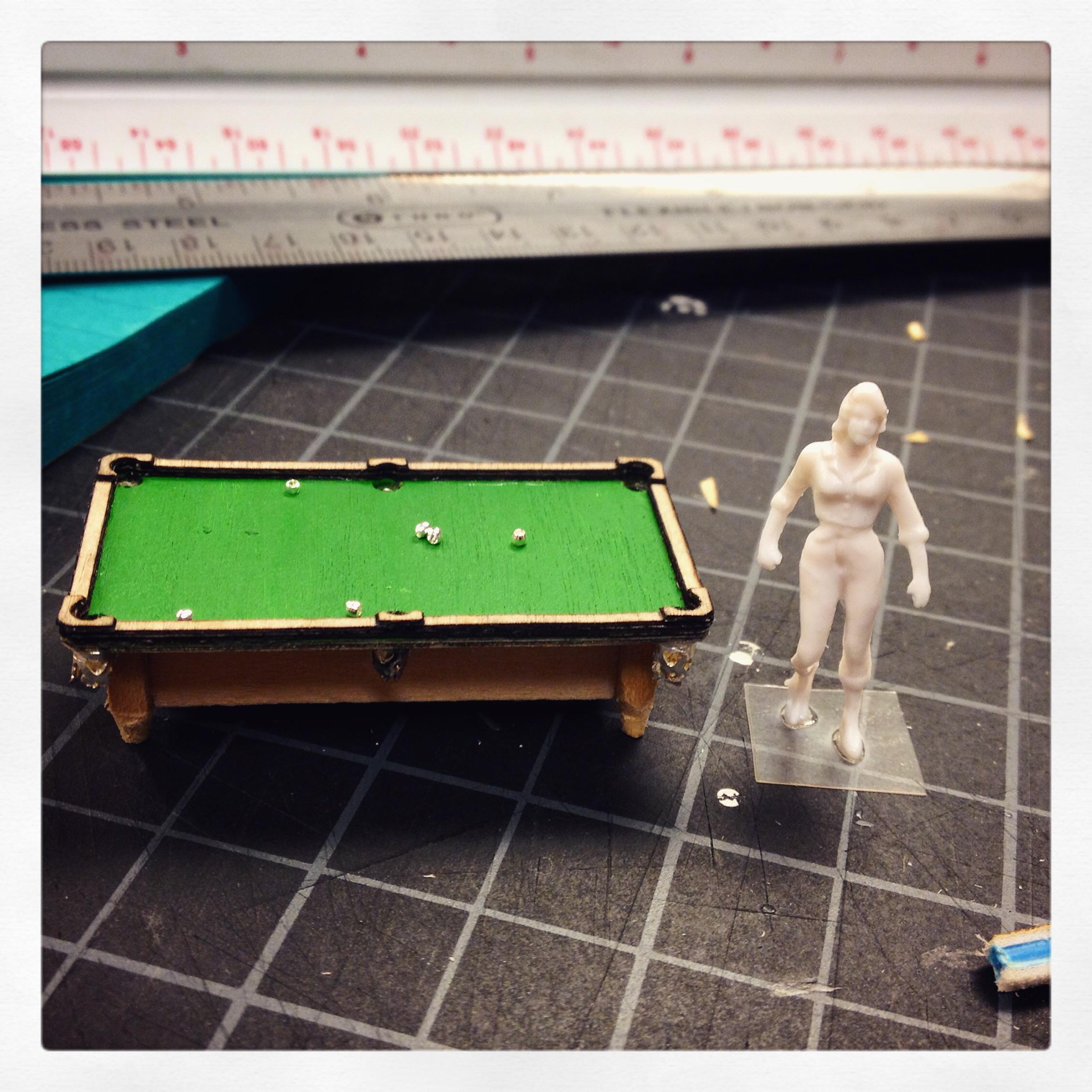 "Pool Table 1/4"""