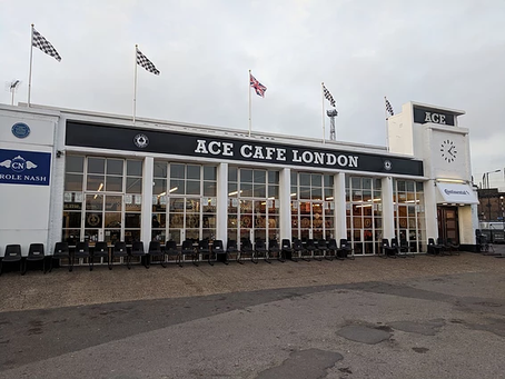 PFI sponsors refurbished letters at ACE CAFE LONDON