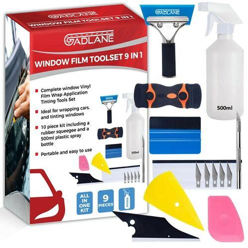 Window film application kit
