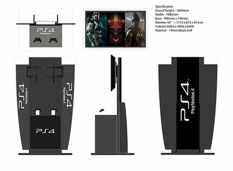 X BOX gaming kiosks