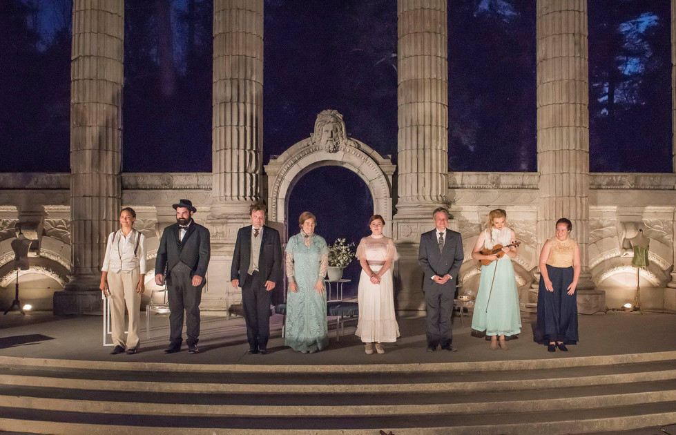 Photographed by Barry Scheffer Pictured: Emma Ferreira, Devon Bryan, Shane Carty, Tracey Ferencz, Siobhan O'Malley, David John Phillips, Manon Ens-Lapointe, Ashlie White