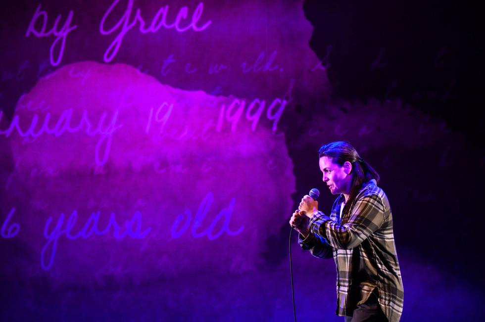 Photographed by Dahlia Katz Pictured: Michaela Washburn