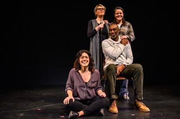 Photographed by Dahlia Katz Pictured: Rose Napoli, Brenda Robins, Conrad Coates, Michaela Washburn