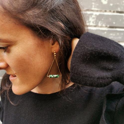 Boucles d'oreille IZÏ