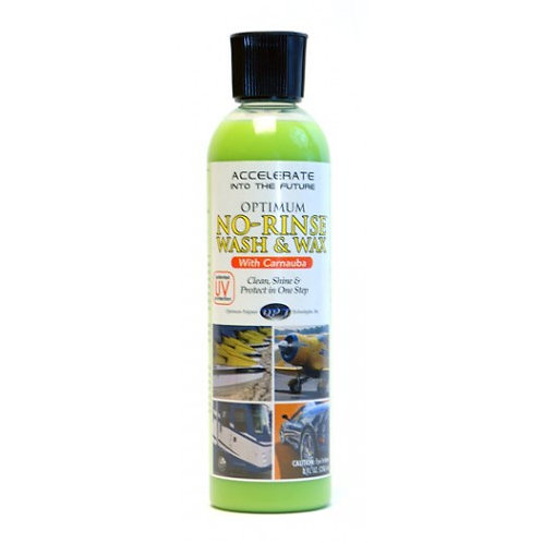 OPTIMUM NO RINSE WASH AND WAX