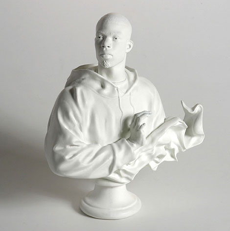 Kehinde Wiley busts