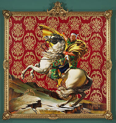 Kehinde Wiley frame