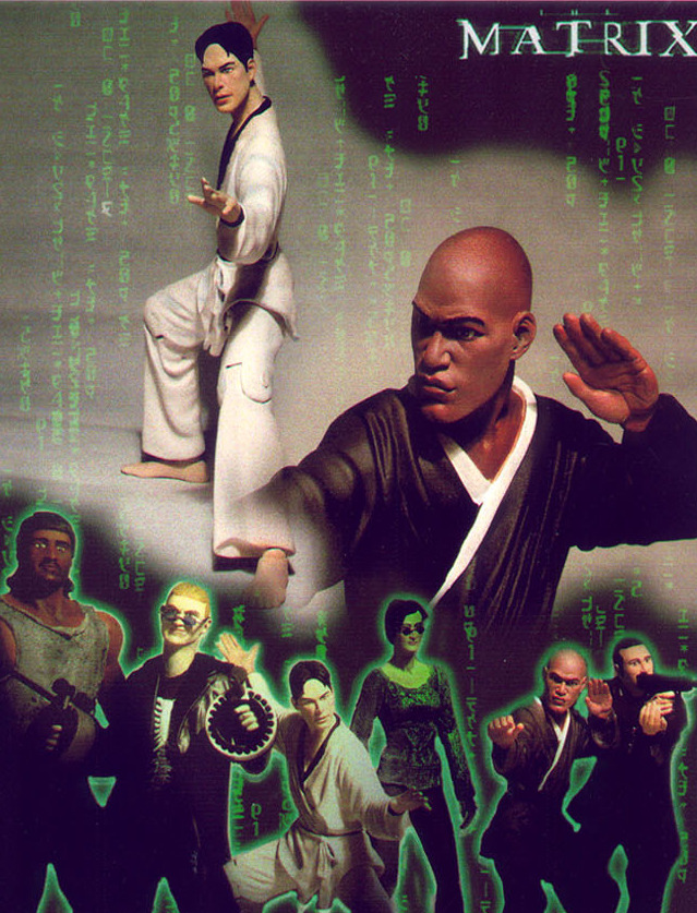 The Matrix figures