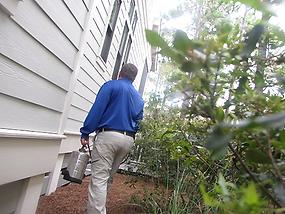 Interior and exterior pest control