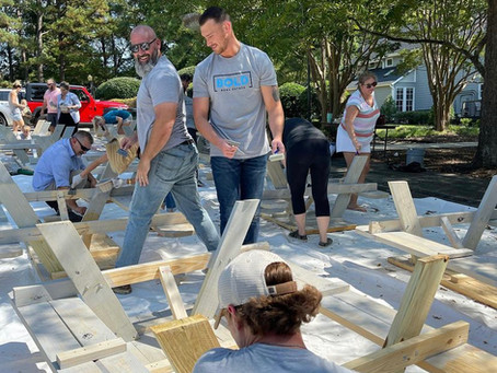 BOLD Foundation Donates Picnic Tables to Chatham County Schools