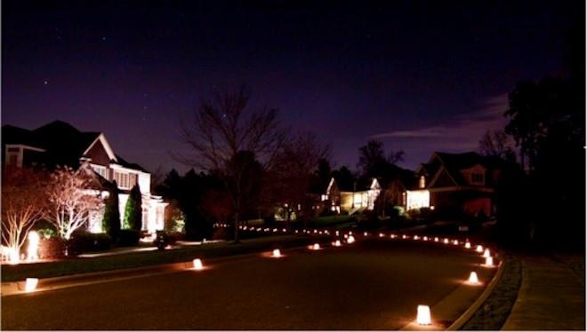 Luminary Night and Celebration!  Saturday, December 14th!