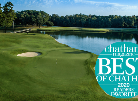 Governors Club earns best of Chatham!