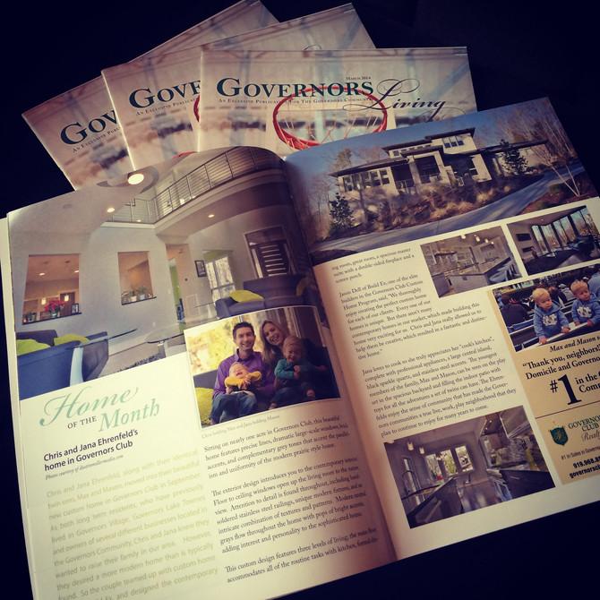 Governors Living magazine!