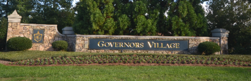 Governors Village main entrance.