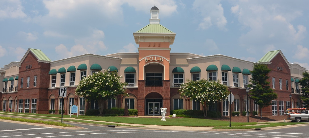 The Bold Building in Governors Village.