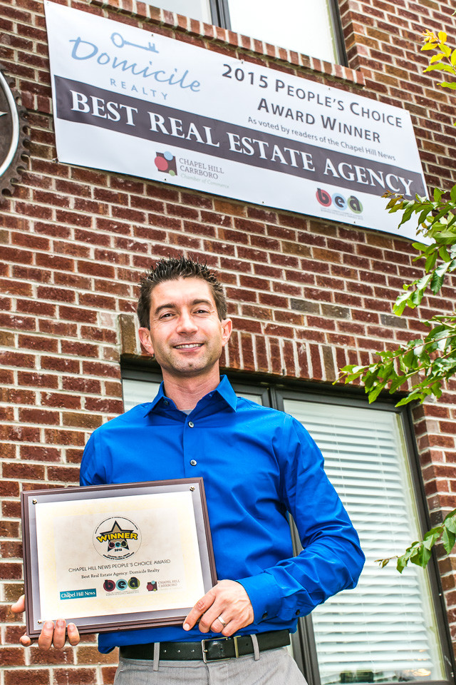 Domicile Realty's Chris Ehrenfeld Talks About Recent Award