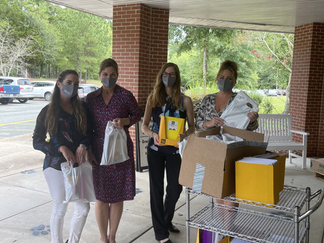BOLD Foundation Donates School Supplies to Chatham County Schools