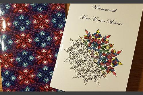 Mine Mønster Malerier (varenr. BM002)
