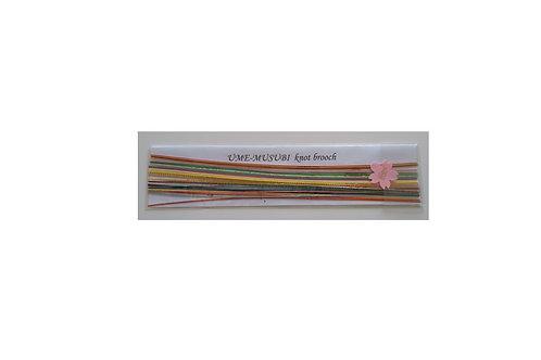 Silkeomviklet papirtråd
