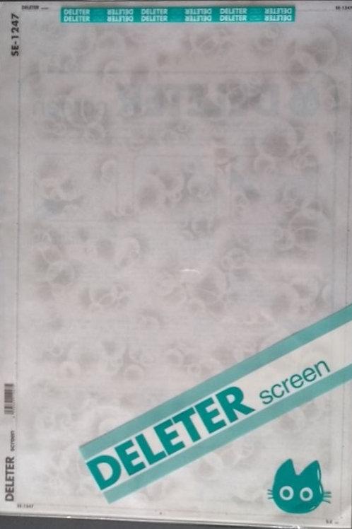 Screen tone SE - 1247 sæbebobler