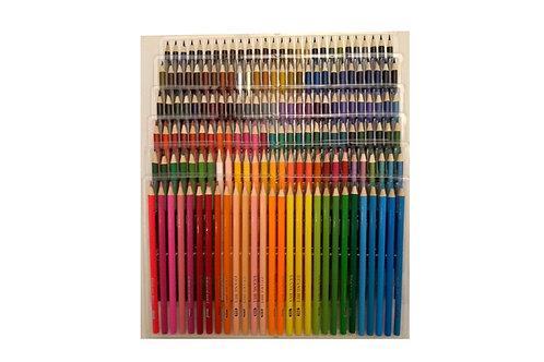 168 Olie-farveblyanter