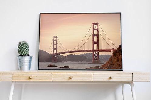 Fotografia,Ponte Golden Gate,São Francisco,quadro,canvas,poster,replica,gravura,reprodução,fototela,tel