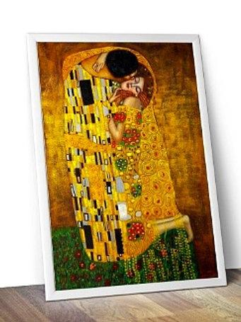 Gustav Klimt - Beijo