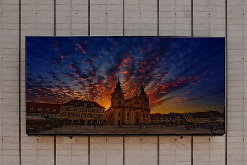 quadros fotográficos,para,sala,quadros para parede,quadros decorativos ponto turístico,Igreja