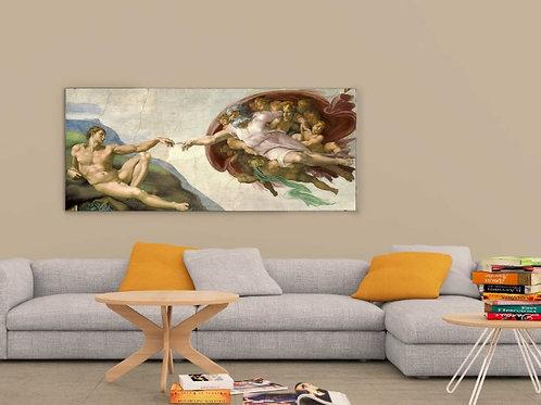 Michelangelo -  A Criação de Adão