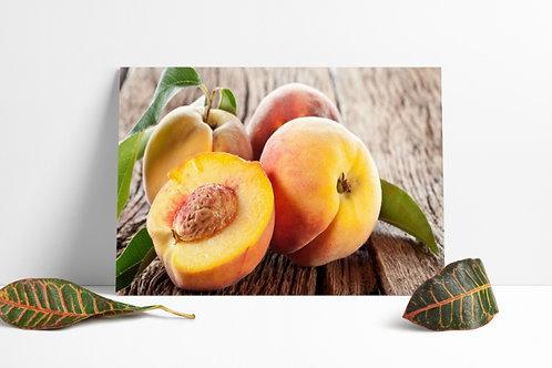 quadro,poster,gravura,canvas,foto,tela,fotografia,cozinha,Alimento,pêssegos,frutas,sala,jantar,varanda gourmet