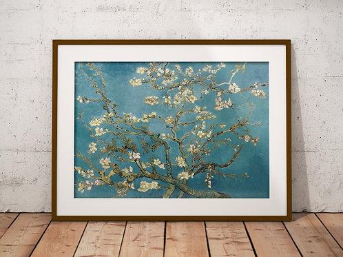 van gogh,amendoeira,amendoeira em flor,flor de amendoeira,almond blossom,promoção,réplica,canvas,tela,pintura,reprodução