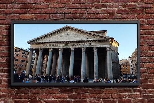 quadros fotográficos,para,sala,Panteon, Roma,quadros para parede,quadros decorativos ponto turístico,Praça São Pedro,Vaticano