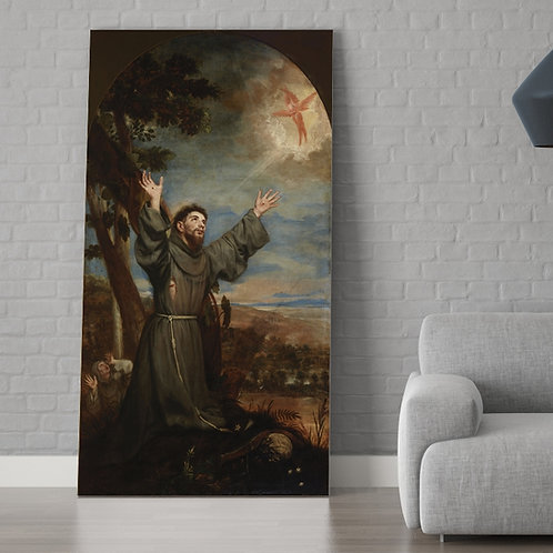 Alonso Cano,Estigmatização de São Francisco de ,quadro, poster, replica, gravura, canvas, reprodução, tela,fototela,pintura