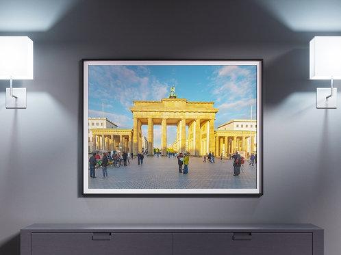 fotografia,Portão de Brandemburgo,Berlim,quadro,canvas,poster,replica,gravura,reprodução,fototela,tel