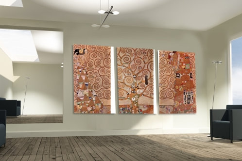 gustav klimt, mosaico, arvore da vida, stoclet frieze, tree of life, multiplo, quadro, poster, gravura, replica, canvas, tela